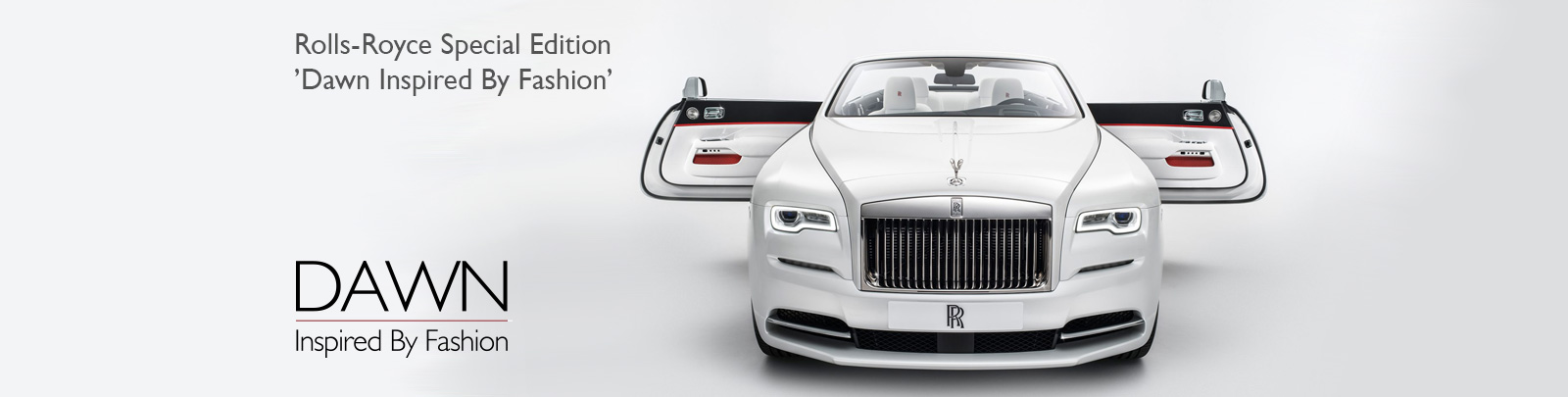 Rolls-Royce Special Edition 'Dawn Inspired by Fashion'