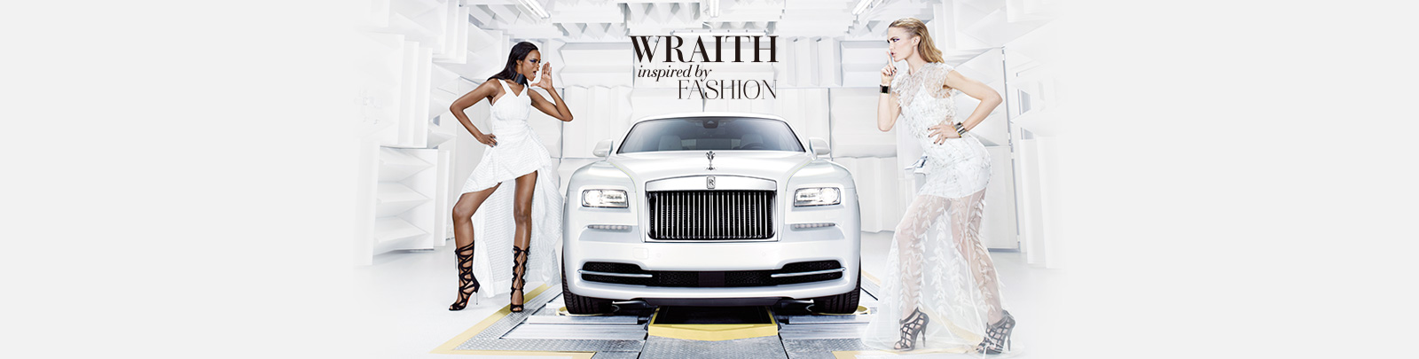Rolls-Royce Special Edition 'Wraith Inspired by Fashion'