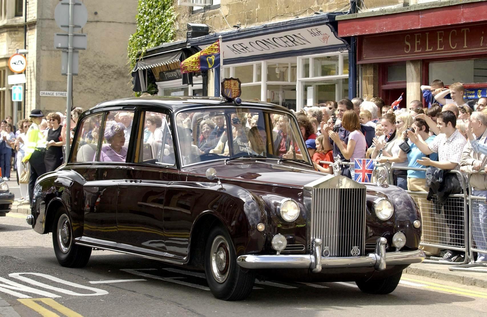 イギリス女王エリザベス2世陛下のファントムVI